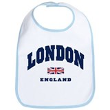 London England Union Jack Bib