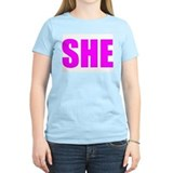 &quot;SHE&quot; T-Shirt