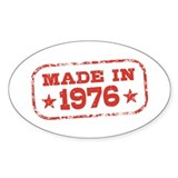 Made In 1976 Decal