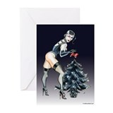 Dominatrix Christmas Greeting Cards (Pk of 10)