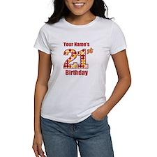 Happy 21st Birthday - Personalized! T-Shirt