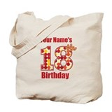 Happy 18th Birthday - Personalized! Tote Bag
