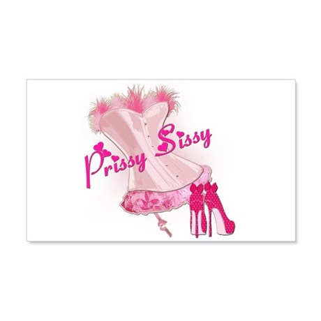Prissy Sissy Corset Wall Decal