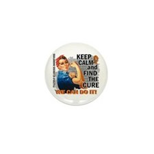 Rosie Keep Calm MS Mini Button (10 pack)