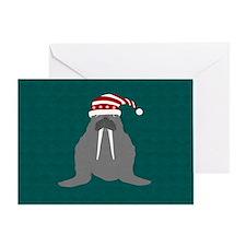Walrus Card Greeting Cards