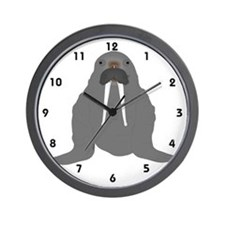Walrus Wall Clock