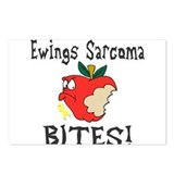 Ewings Sarcoma Bites Postcards (Package of 8)