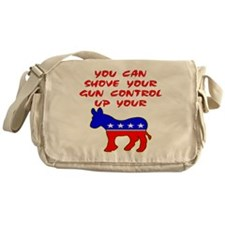Shove Your Gun Control Messenger Bag