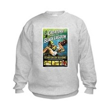 Creature from the Black Lagoon Poster Sweatshirt