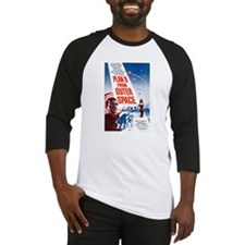 Plan 9 From Outer Space Poster Baseball Jersey