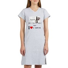 Cute Vampire Women's Nightshirt
