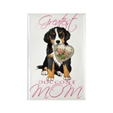 Berner Mom Rectangle Magnet
