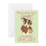 Corgi Mom Greeting Card