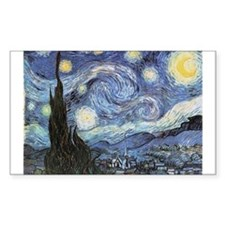 Starry Night Vincent Van Gogh Decal