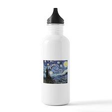 Starry Night Vincent Van Gogh Water Bottle