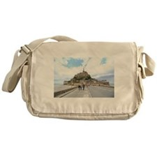 Mont St. Michel, Normandie France Messenger Bag
