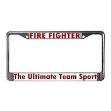 """The Ultimate Team Sport"" License Plate Frame"
