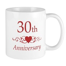 30th Wedding Anniversary Mug