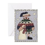 Let's Build A Snowman Christmas Cards (Pkg. of 6)