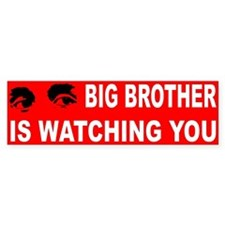 BIG BROTHER... Bumper Bumper Sticker