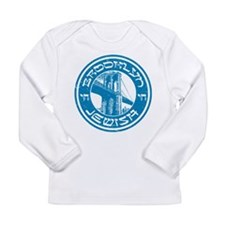 Brooklyn New York Jewish Long Sleeve T-Shirt