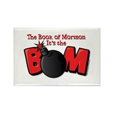 The Book of Mormon - Its the BOM Rectangle Magnet