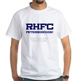 RHFC PETERBOROUGH - ROTTEN HAT FAN CLUB! T-Shirt