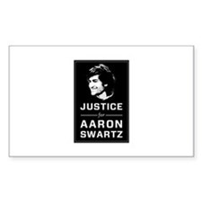 Justice for Aaron Swartz Decal