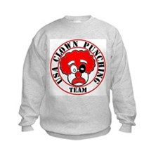 USA Clown Punching Team Sweatshirt