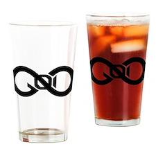 God Infinity Symbol Drinking Glass