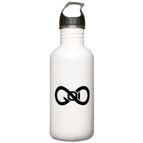 God Infinity Symbol Stainless Water Bottle 1.0L