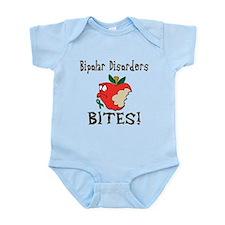 Bipolar Disorders Bites Infant Bodysuit