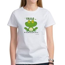 F.R.O.G. Fully, Relying,On,God T-Shirt