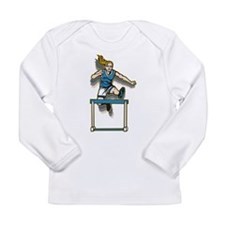 Women's Hurdles Long Sleeve Infant T-Shirt
