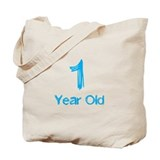 1 Year Old Tote Bag