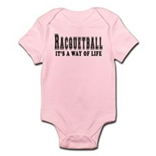 Racquetball It's A Way Of Life Onesie