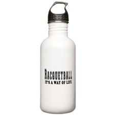 Racquetball It's A Way Of Life Water Bottle