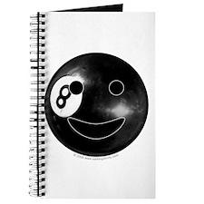 8-ball Smiley Journal