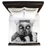 Love Lemurs King Duvet
