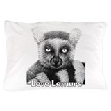Lemur Pillow Cases