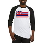 Hawaii Hawaiian Blank Flag Baseball Jersey