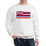 Hawaii Hawaiian Blank Flag Sweatshirt