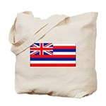 Hawaii Hawaiian Blank Flag Tote Bag