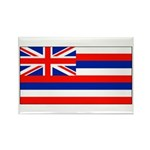 Hawaii Hawaiian Blank Flag Rectangle Magnet