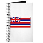 Hawaii Hawaiian Blank Flag Journal