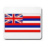 Hawaii Hawaiian Blank Flag Mouse Pad