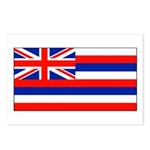 Hawaii Hawaiian Blank Flag Postcards (Package of 8