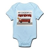 My Daddy's A Firefighter  Baby Onesie