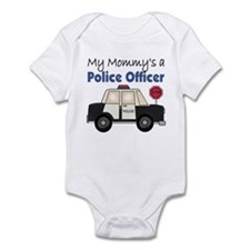 My Mommy's A Police Officer Infant Bodysuit