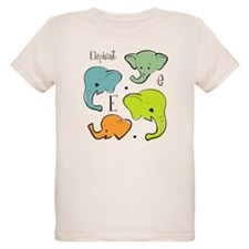 """E is for Elephant"" Kids T-Shirt"